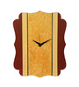 Rang Rage Brown Wooden 15.95 x 12.2 Inch Mother Earth Wall Clock