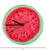 Rang Rage Watermelon Handpainted Round Clock