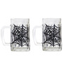 Rang Rage Web Mystery Handpainted Beer Mug - Set of 2