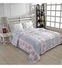 Ratan Jaipur Blue and White Fabric Dohar