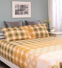 Raymond Home Multicolour Cotton Queen Legend Bed sheet with 2 Pillow Covers