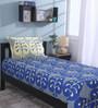 Raymond Home Multicolour 100% Cotton Single Size Bedsheet - Set of 2