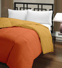 Raymond Home Yellow Micro Fiber 100 x 90 Inch Double Quilt