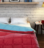 Raymond Home Red Cotton Queen Size Quilt