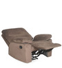 Rays Single Seater Recliner in Brown Colour by @home