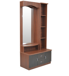 Regent Dressing Table in Wenge Colour by Crystal Furnitech