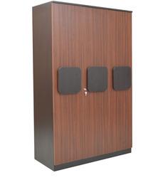Regent Three Door Wardrobe in Wenge Colour by Crystal Furnitech