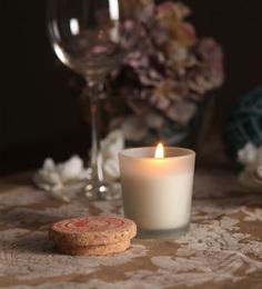 Resonance Apple & Cinnamon Apple Cinnamon Natural Wax Scented Candle With Cork Lid