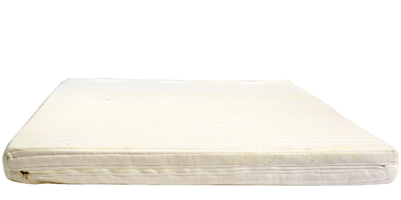 Reborn Latex Rubber 6 Inches King Size Foam Mattress in Green Colour by Godrej Interio