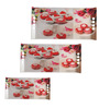 Recon Colorful Tarts Melamine Serving Tray - Set of 3