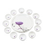 Recon Violet Melamine 18-Piece Plate and Bowl Set