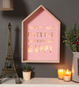 RedNBrown Brown Wood & MDF Enjoy Little Things in Life Light Framed Large Wall Hanging