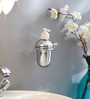 Regis Sula Silver Stainless Steel Soap Dispenser