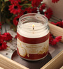 Resonance Candles Apple Cinnamon Aroma Scented Natural Wax Jar Candle