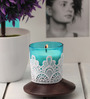 Resonance Candles Blue Lace Decorative Candles
