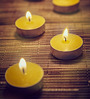 Resonance Candles Lemongrass T Light Candles