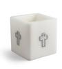 Resonance Luminary White Candle