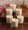 Resonance Natural Wax Shot Glass Candles - Set of 6
