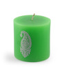 Resonance Paisley Green Candle