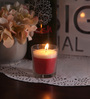 Resonance Strawberry Christmas Festive Scented Candle