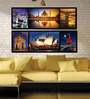 Retcomm Framed Multiple Canvas Paintings Multiple frames for China palace