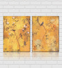 Retcomm Framed Multiple Canvas Paintings Birds on a Floral Tree And on a Tree With No Flowers