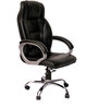 Rex Executive High Back Chair in Black Color By VJ Interior