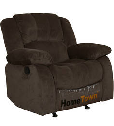 Rhea One Seater Fabric Recliner by HomeTown
