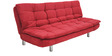 Richmond Sofa cum Bed in Red Colour by Furny