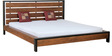 Tiber King Size Bed in Premium Acacia Finish by Woodsworth