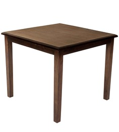 Riva Four Seater Dining Table in Walnut Colour by Evok