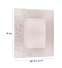 Riflessi Transparent Glass Diva Designer Wall Mirror