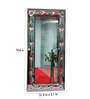 Riflessi Transparent Glass Suite Designer Wall Mirror