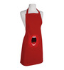 Right Red Polyester Chilli Lips Free Size Apron