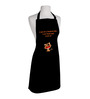Right Clipart Black Polyester Free Size Apron