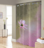 Right Multicolored Polyester Shower Curtain