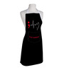 Right Story Continues Print Black Polyester Free Size Apron