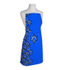 Right Blue Polyester Star Print Free Size Apron