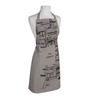 Right Gray Polyester Work Schedule Free Size Apron