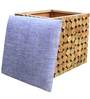 Riley Box Pouffe Natural Finish by Inliving