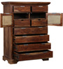 Shelton Branco Chest of Drawers in Provincial Teak Finish by Amberville