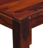 Oakland Four Seater Dining Table in Honey Oak Finish by Woodsworth