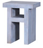 Morcheeba Solid Wood End Table by Bohemiana