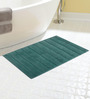 Riva Carpets Blues Cotton 32 X 20 Bath Mat 1 Pc