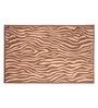 Riva Carpets Safari Flatweave Brown Wool Area Rug