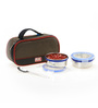 RK Super Lock & Seal Silver Stainless Steel 200 ML Lunch Box Set - Set of 2