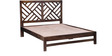 Enumclaw Queen Bed in Provincial Teak Finish by Woodsworth
