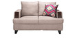 Roman Reverie Two Seater Sofa in Golden Beige Colour by Urban Living
