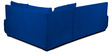 Rome L-Shaped Sectional Sofa in Blue Color by Home City