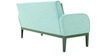 Rome Three Seater Sofa in Aqua Colour by Furnitech